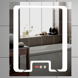 OEM Hot Seller Square Hotel Luxury Bath Room Led Mirror Led Bathroom Mirror
