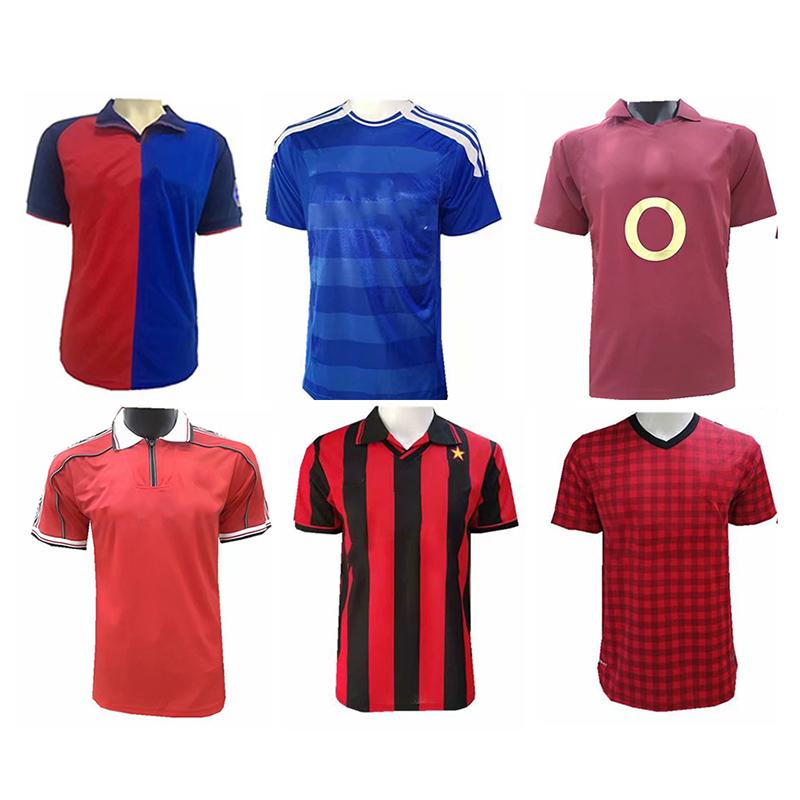 Wholesale Retro Football Jersey Shirt Thailand Quality Club Custom ...