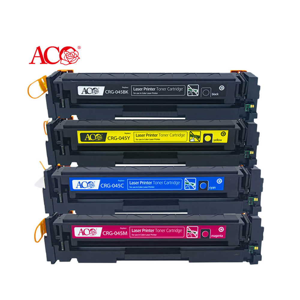 Цветной картридж для лазерного тонера ACO CRG 045 045H 040 040H 046 046H 054 054H 057 041 052, совместимый с Canon