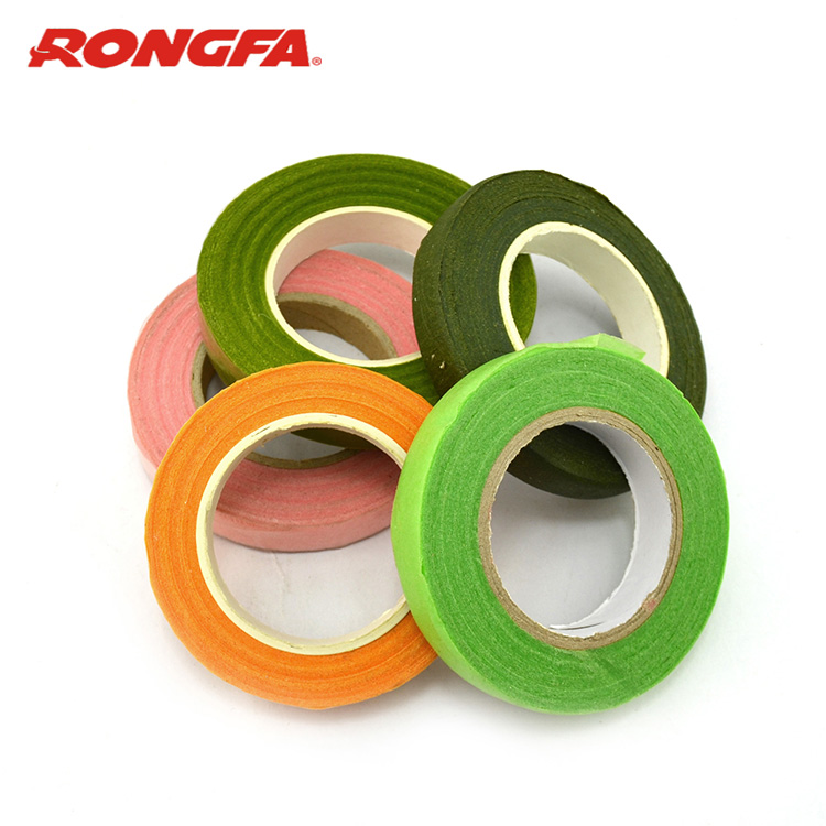 Florist supplies floral tape / paper covered floral wire