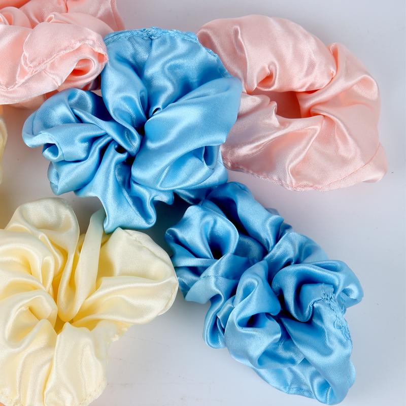 Wholesale heatless 100% silk hair curls for women soft magic hair curling rollers ribbon