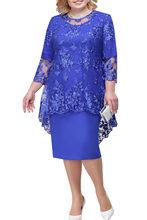 Madre/новые кружевные платья для матери невесты, скромные королевские темно-синие Бордовые Платья для свадебной вечеринки, Vestido Marsala Madrinha(China)