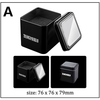 Black tin box