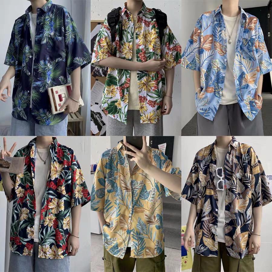 Мужская быстросохнущая одежда, Гавайские городские рубашки больших размеров, оптовая продажа, винтажные повседневные рубашки для мужчин с принтом в стиле смокинг и вертикальной полосой