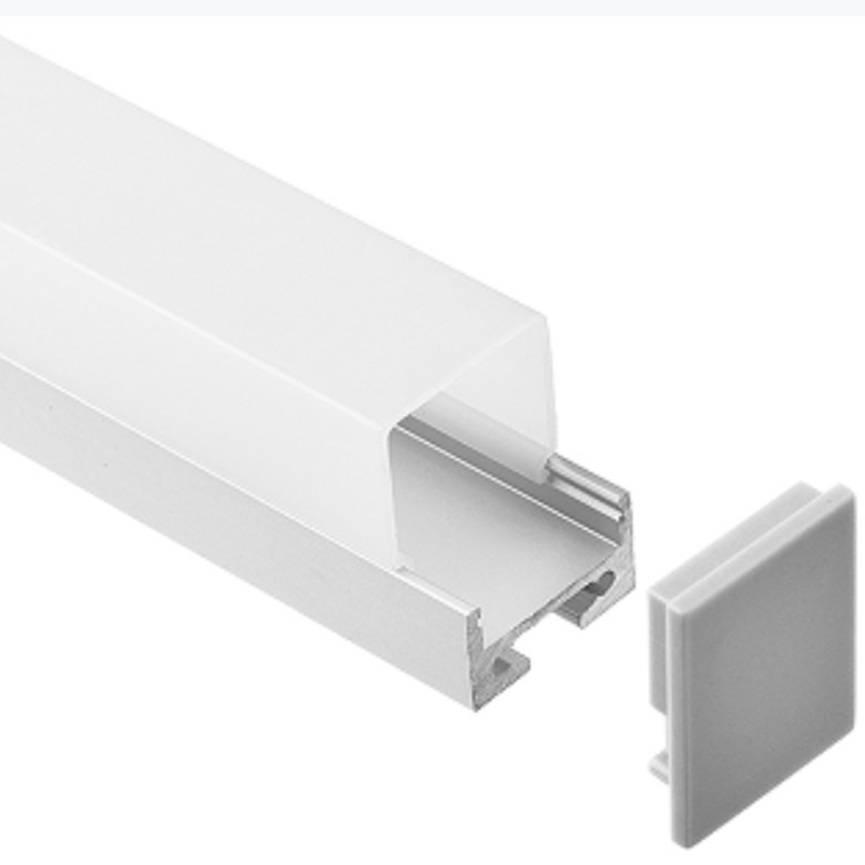 Customized Modern 12v Led Strip Light Diffuser Cover Super Led Lighting High Bay Light Diffuser For Showroom Cabinet