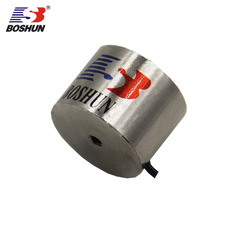 Industrial Small 12V DC Electrical Holding electromagnet Round Solenoid magnetic chuck