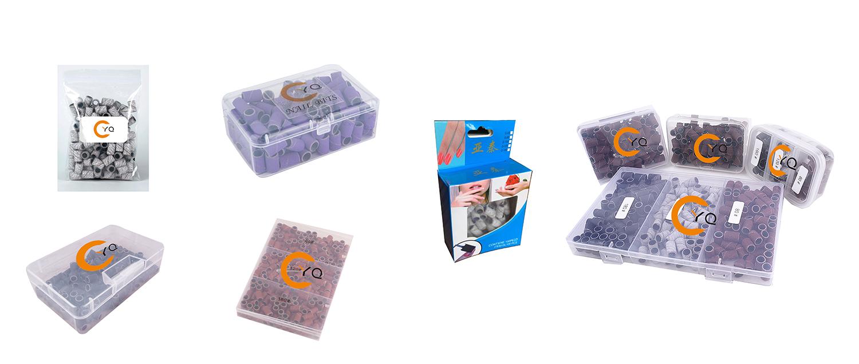 Супертонкие шлифовальные ленты для маникюра, набор для маникюра, сверла, шлифовальные ленты