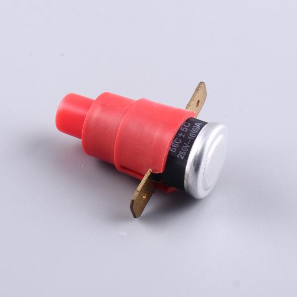 XH-B--1-12 защита от высоких температур 16A 250V сброс показаний температуры термостата протектора