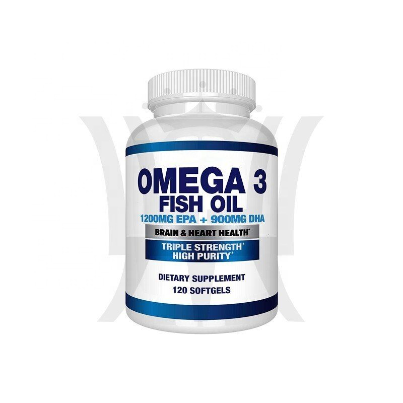 Omega 3 Fish Oil 4080MG High EPA 1200MG DHA 900MG Triple Strength For Immune System Boost 120 Capsules Dietary Suppelement