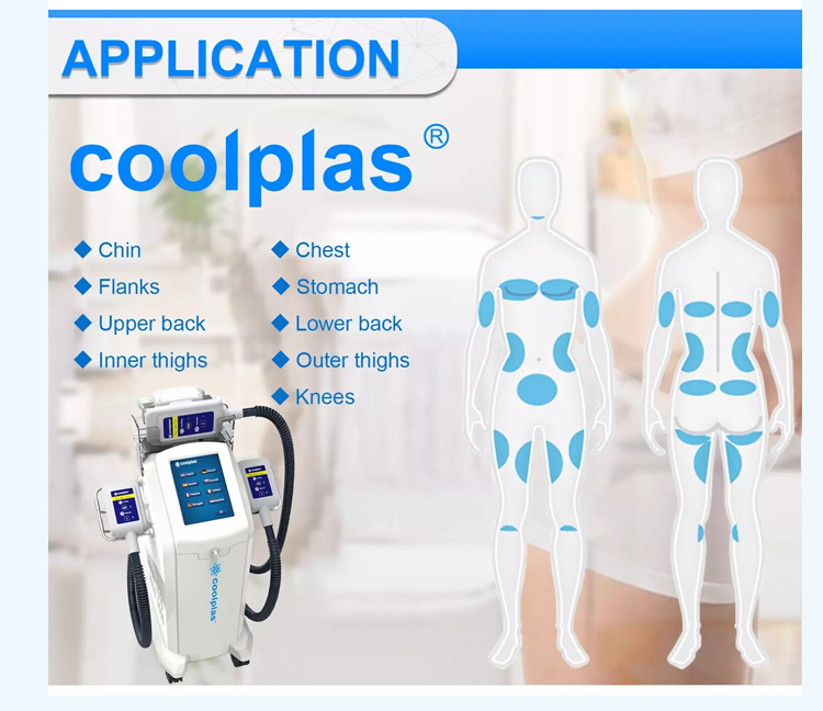 Sincoheren Coolplas Newest fat freeze slimming cryotherapy 360 cryo fat freezing weight loss cooling equipment