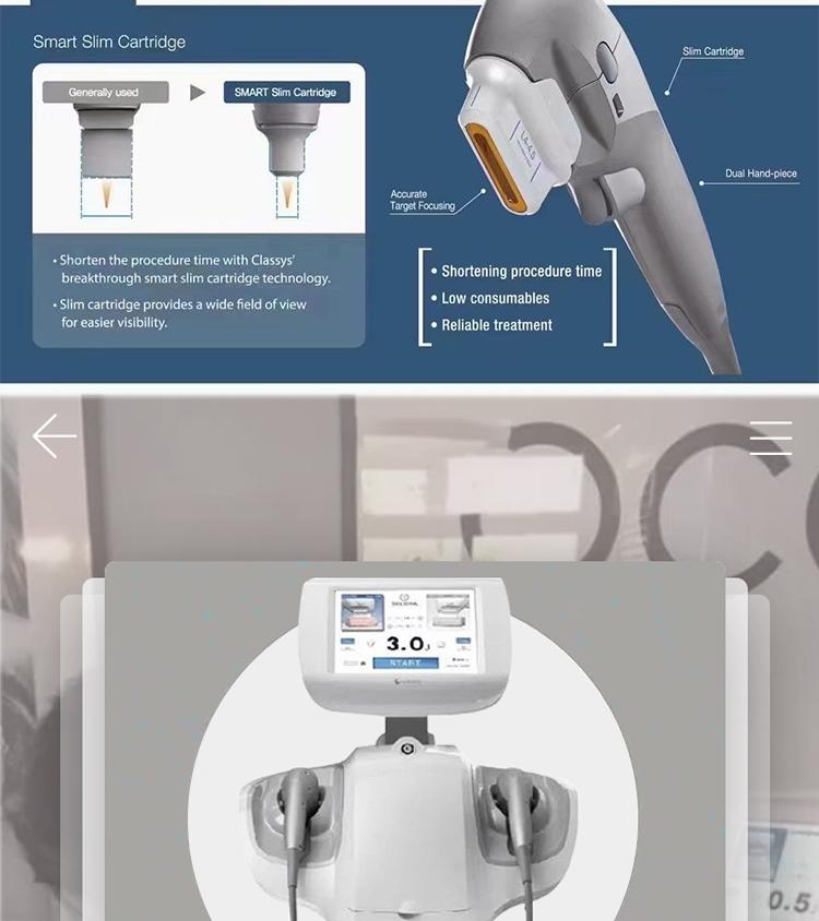2021 Professional medical korea smas hifu facial lifting machine 7D hifu machine