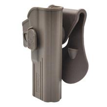 Тактическая кобура Amomax для Glock 17/22/31 KWA серии АТР APS ACP серии-правшей черный (стандарт только с поясной пластиной)(Китай)