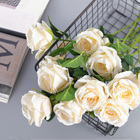 Artificial Flowers Wholesale Artificial Rose Flower And Silk Rose For Wedding And Home Decoration