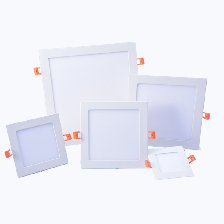CTORCH Slim 3W 9W 12W 18W Square Led Ceiling Panel Light For Large-Scale Lighting Such As Offices
