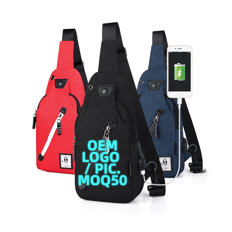 Мягкая сумка-Кроссбоди для телефона, Маленькая мужская нагрудная Сумка-слинг с принтом логотипа для мальчиков