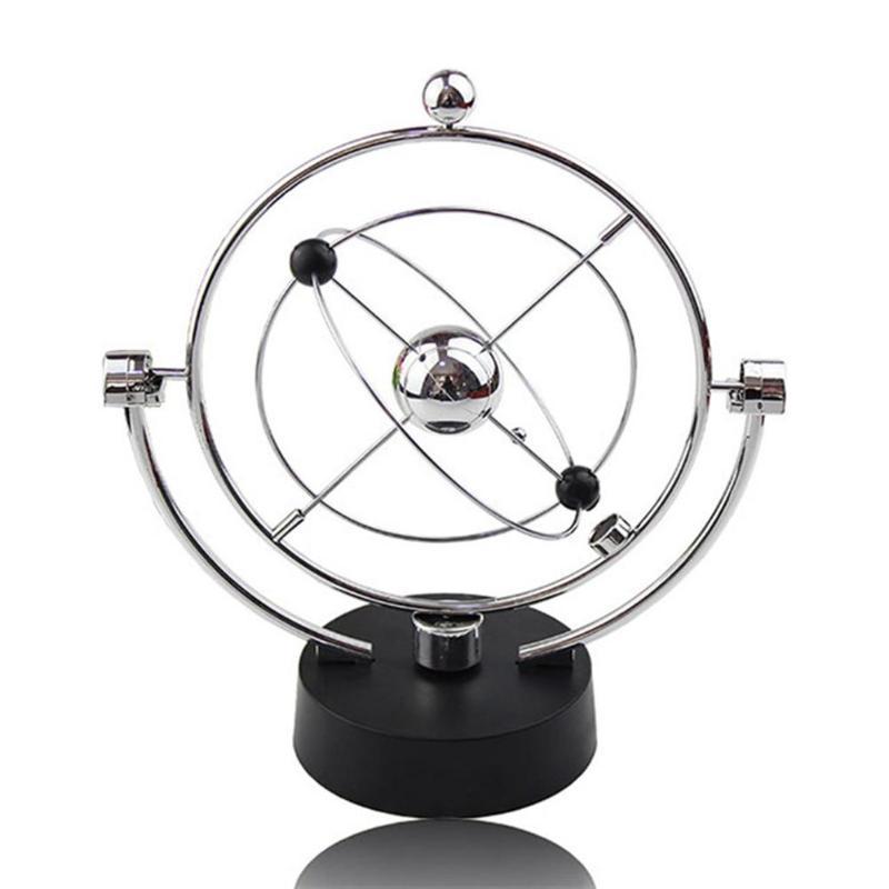 Электрическая колыбель Newtons, стальной Балансирующий шар, физика, наука, маятник, игрушка, настольная, образовательная, развивающая, орнамент, фигурки