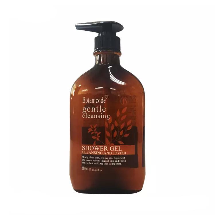 OEM собственная Марка, натуральный органический травяной пенный гель для душа, гель для мытья тела для повседневной ванны