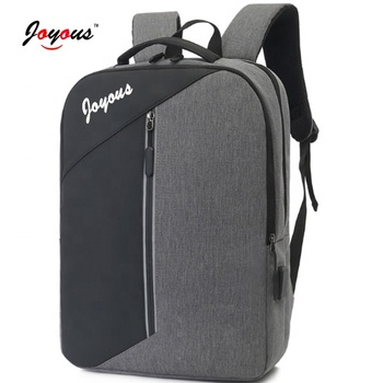 Joyous Best Waterproof Usb Charging Port Business Backpack Computer Bags Men Laptop Bag