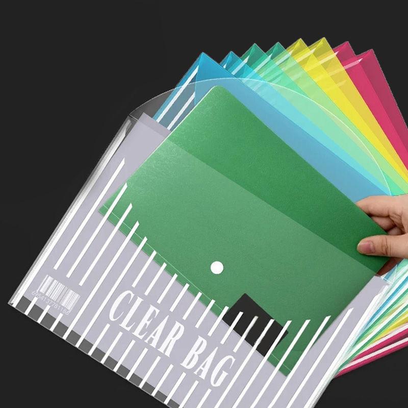Высокое качество, оптовая продажа, дешевая прозрачная папка для файлов из полипропилена с пользовательским логотипом