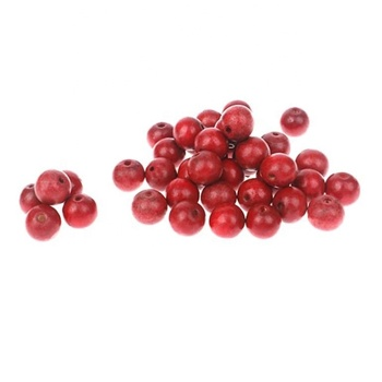 20mm Natural Wood Beads Red Unfinished Round Wooden Loose Beads Wood Spacer Beads for Jewelry Necklace Bracelets Craft 300pcs