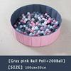 11-Gray Pink Ball Pool+200 Ball