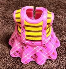 Новое поступление, бесплатная доставка, 1 предмет, оригинальное платье, комплекты одежды для детей 8 см, платья для кукол Big Sister, детские игруш...(Китай)