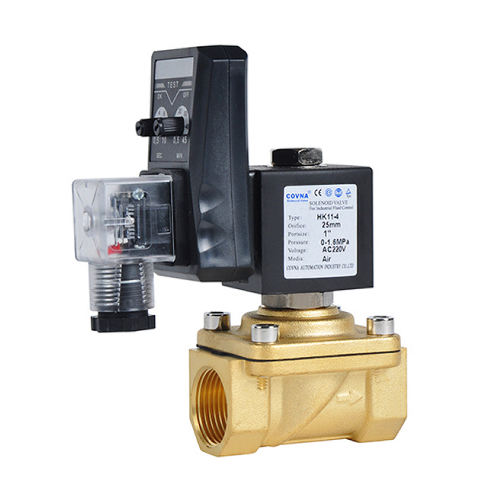 COVNA 1/2 inch Automatic Drainage Water Solenoid Valve with Timer