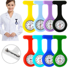Wholesale Portable Silicone Digital FOB Nurse Watch Pocket Silicon Nurse Watch Nursing FOB Watch