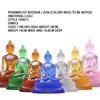 9-inch glazed pharmacist Seven Buddhas/Zun (Simple)