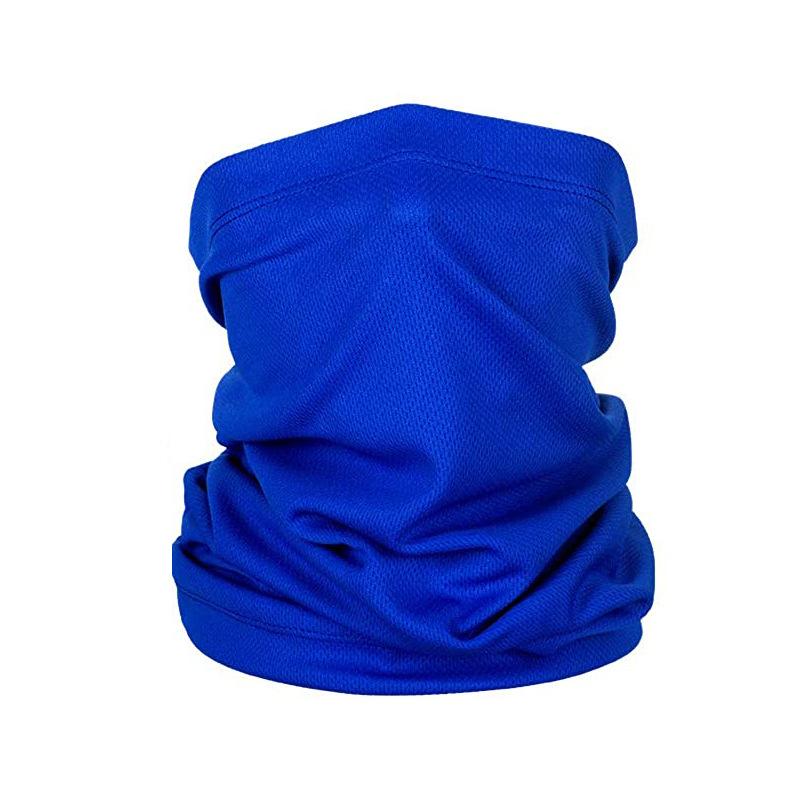 Велосипедная маска для лица для спорта на открытом воздухе Быстросохнущий головной платок для езды на мотоцикле Солнцезащитная маска для лица