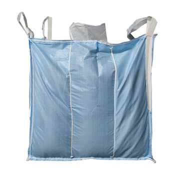 Virgin PP 1000kg Jumbo Bag Price FIBC Big Bulk Baffle Type Form Stable 1 Ton Leakage Proof 1.5 Ton Jumbo Big Bag