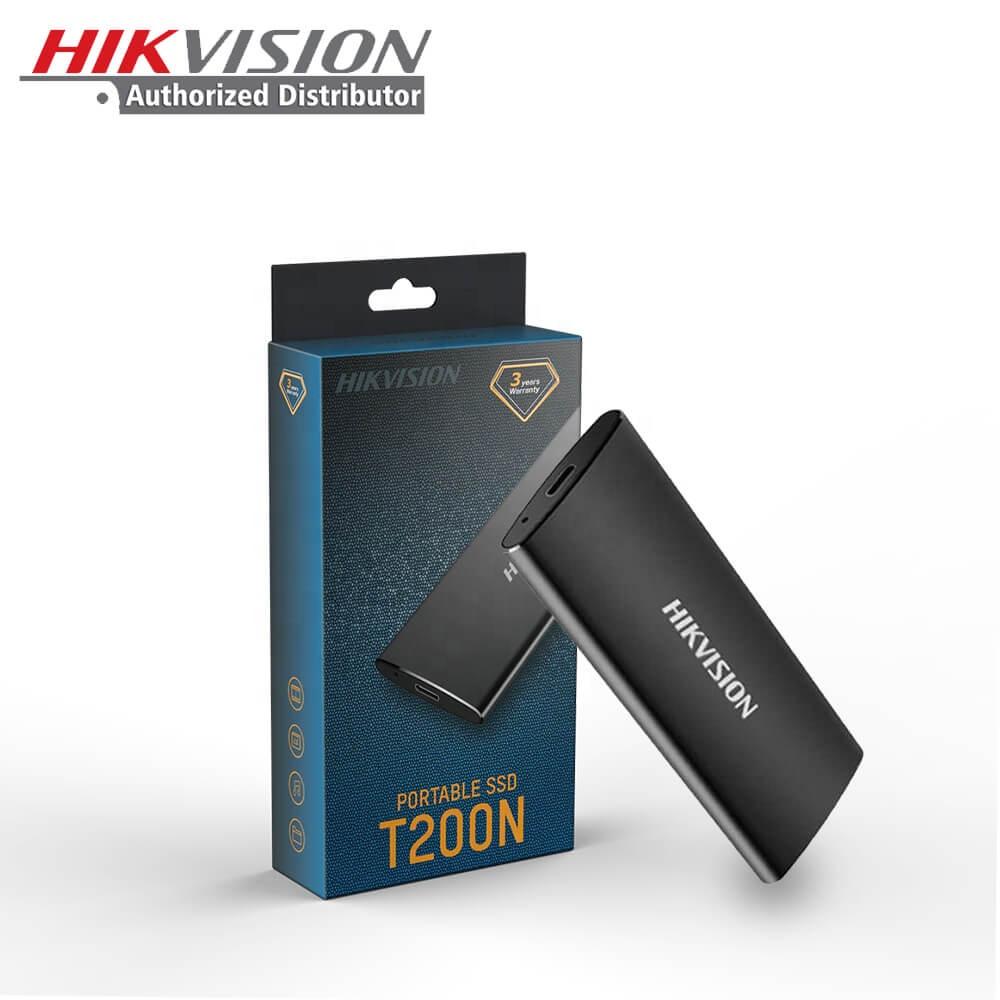 Hikvision OEM T200N Đen Type-C USB 3.1 Đĩa HD Ổ Cứng Trạng Thái Rắn Disco Duro 120GB 240GB 480GB Mini Bên Ngoài Di Động SSD