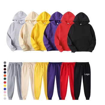 New Hoodies Design Custom colorful men hoodies Set with own logo brand Customized mens pullover hoodies