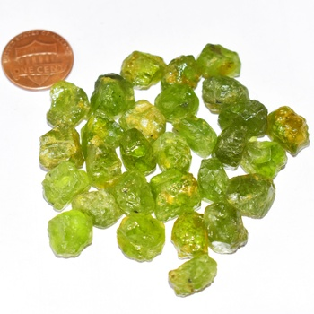 Natural Green Peridot Uncut Loose Gemstone Rough, Birthstone Gems For Sale, Genuine Wholesale Price Loose Stone Seller