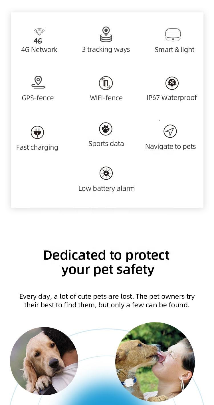 XEXUN New Arrival Track Mini Locator 4g Dog Cat Tracking Chip Gps Tracker For Cat,Small Chip Mini Tractive Gps Smart Nano Pet