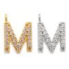 gold or rhodium - M