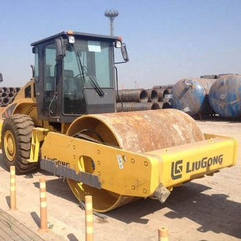 LIUGONG Single Drum Vibratory Rollers Mini Road Roller Compactor 6614E