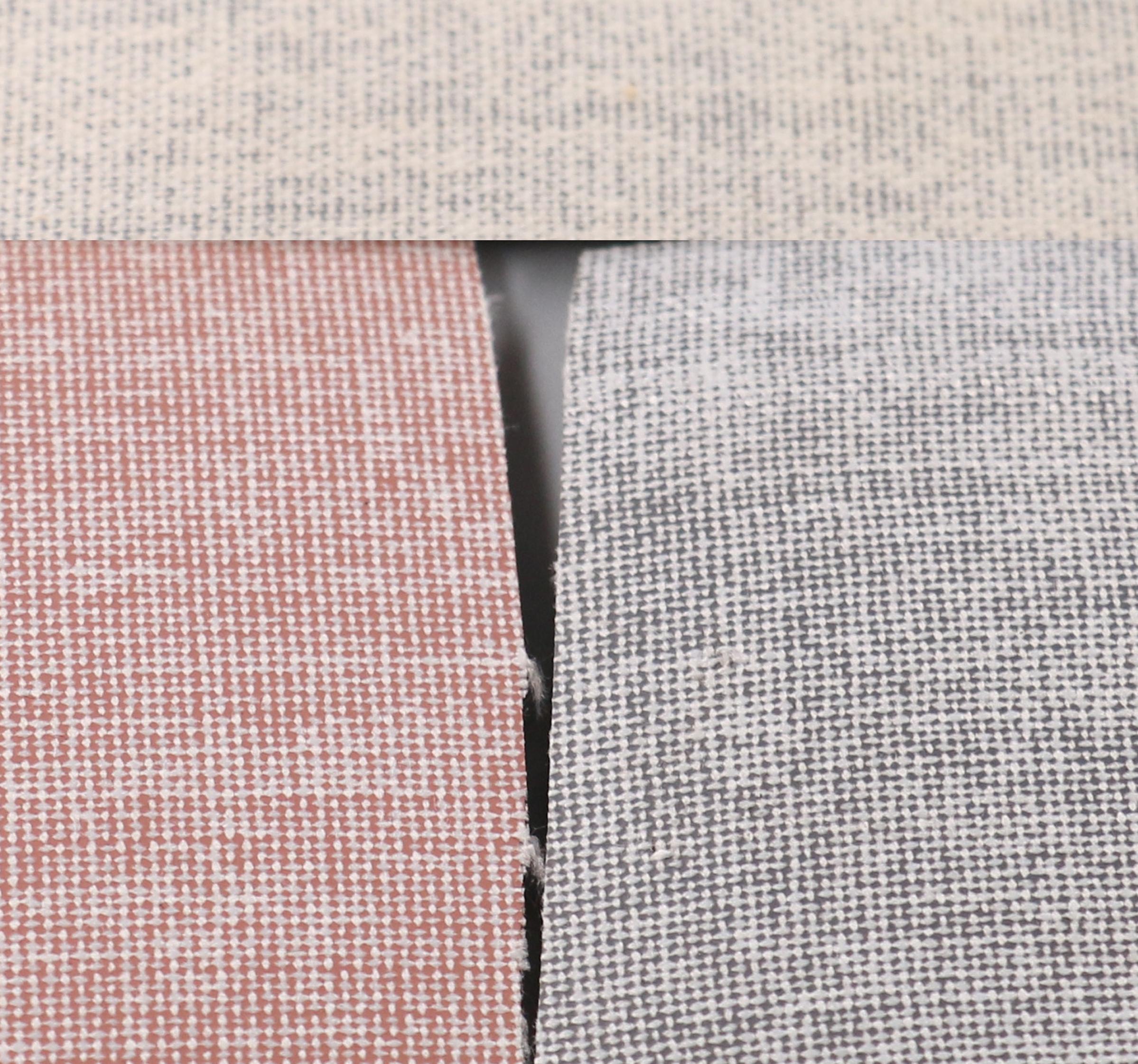 Виниловый материал для промышленного использования, серый хлопчатобумажный композит для багажа или сумки