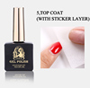 Top Coat(with sticker laser)