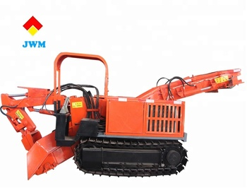Made in china coal mine tunnel crawler mucking loader with safe and fast construction