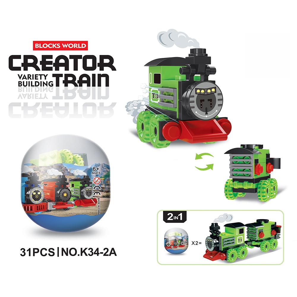 Оптовая продажа, пластиковые мини-строительные блоки, капсулы-яйца сюрприз, игрушки для детей, капсульный торговый автомат
