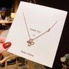 064 rose gold necklaces