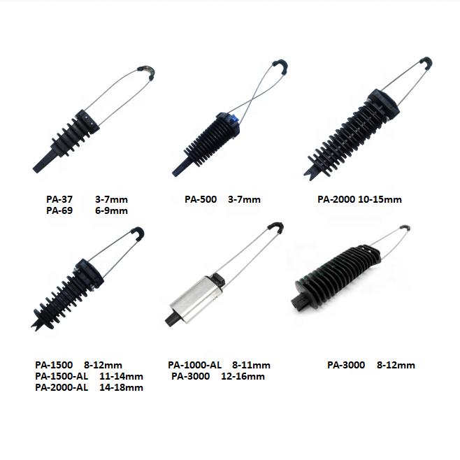 Зажим для крепления кабеля ADSS/зажим для кабеля/крепежный зажим для кабеля