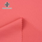 Polyester Spandex Polyester And Spandex Fabric 1657 Yoga Leggings Red Shiny Stretch Single 4 Way Stretch Jersey Knit Solids 85 Polyester 15 Spandex Fabric For Swimwear