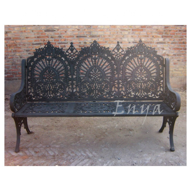 Cast Iron Garden Bench, Outdoor/Patio Furniture, Garden supplies