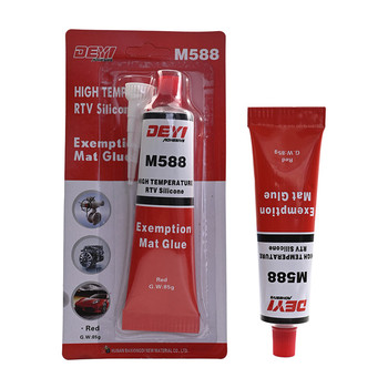 DEYI M588 high temperature neutral RTV silicone gasket maker red