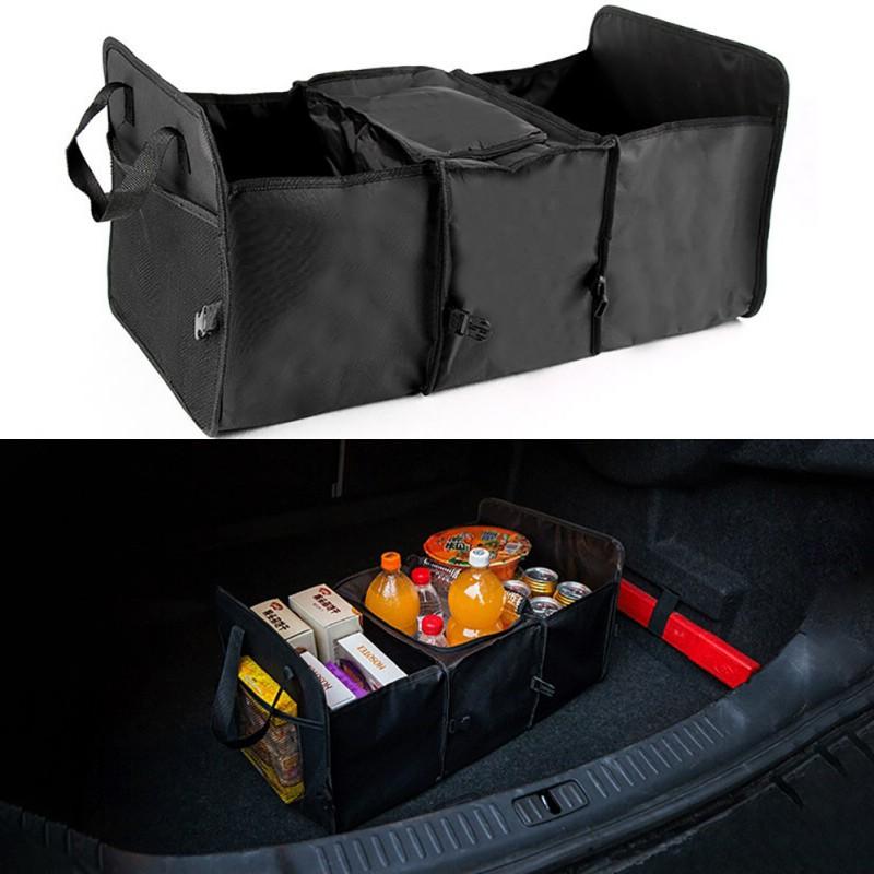 Многофункциональная Водонепроницаемая Складная теплая сумка для хранения автомобиля на заднем сиденье заднего багажника большая сумка дл...(Китай)