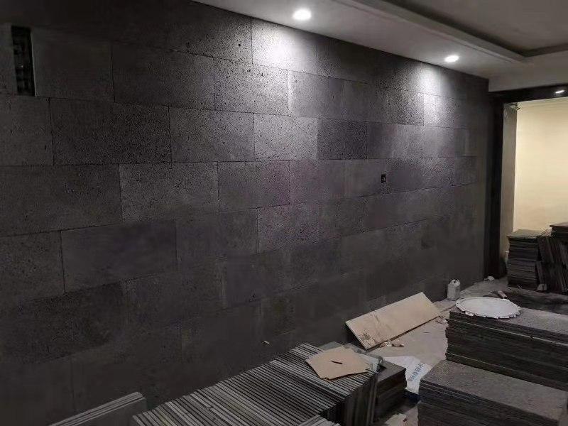 40х60 см черные наружные каменные строительные стеновые облицовочные Базальтовые панели
