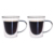 high borosilicate clear double glass cup with double wall