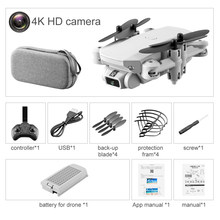 2020 Новый LS-MIN 4K 1080P HD камера мини Дрон WiFi переносной складной Квадрокоптер RC БПЛА дистанционного управления Дети RC игрушка подарок на день ро...(Китай)